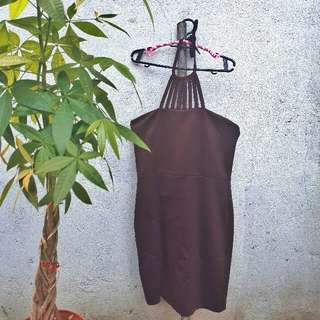 Elegant Brown Dress
