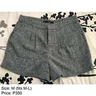 Penshoppe Gray Shorts Medium