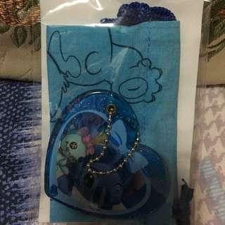 迪士尼 史迪仔 stitch 鏡,袋 mirror with pouch