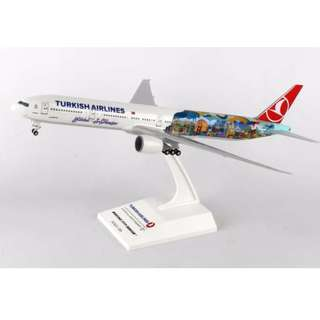 "1/200 Skymarks Turkish Airlines B777-300ER ""Istanbul-San Fransisco"""