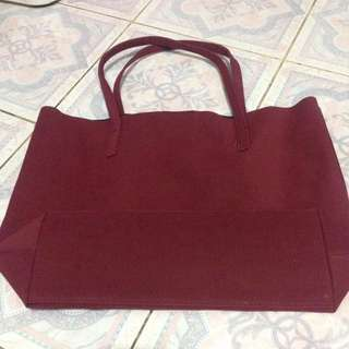 MERCHE RED BAG