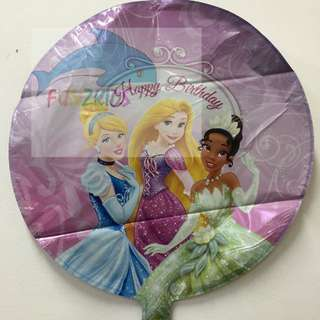 Reserved -Princess Foil Balloon