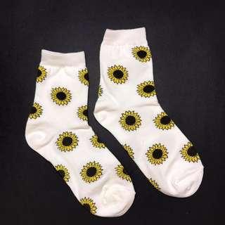 Yaz sunflower MID SOCK