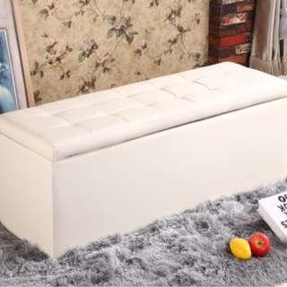 PU皮收納凳換鞋凳 儲物凳 (Storage Box, Storage Chair)