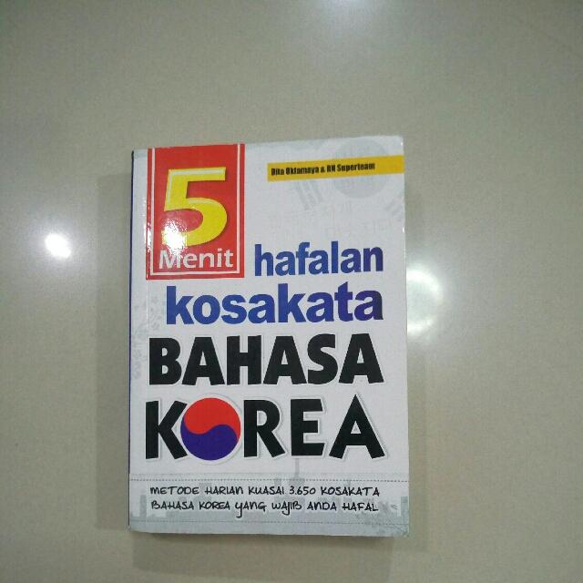 5 Menit Hafalan Kosakata Bahasa Korea