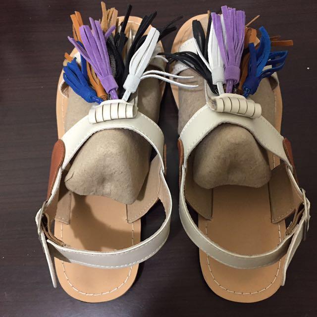 泰國特別流蘇涼鞋(店員說有名的網路牌)