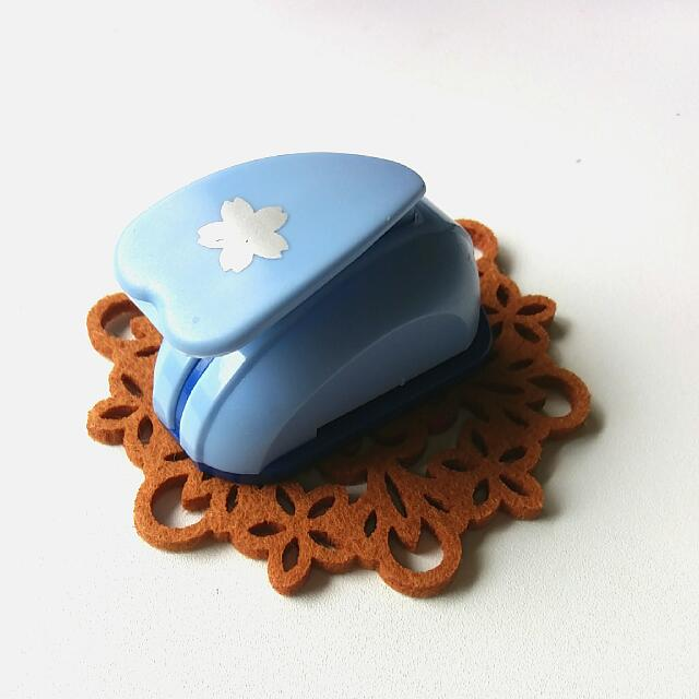 櫻花造型迷你打洞機