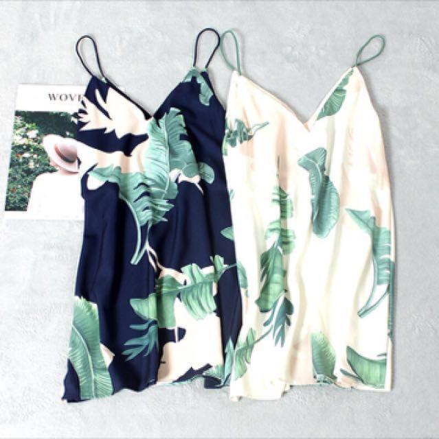 渡假風連身裙