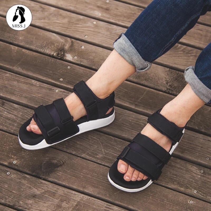 香港正品 假一賠百現貨 Super製造 愛迪達/adidas 魔術貼沙灘運動涼鞋休閒鞋沙灘鞋情侶鞋新款36-44碼