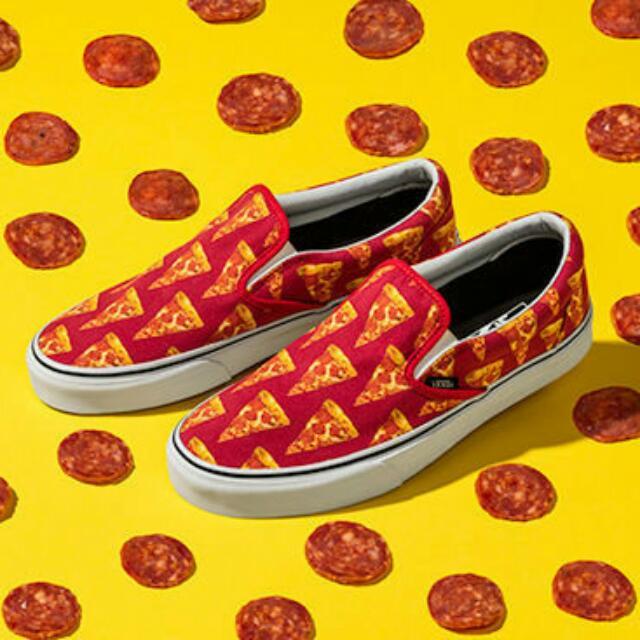 徵收 Vans Slip On Pizza 24號