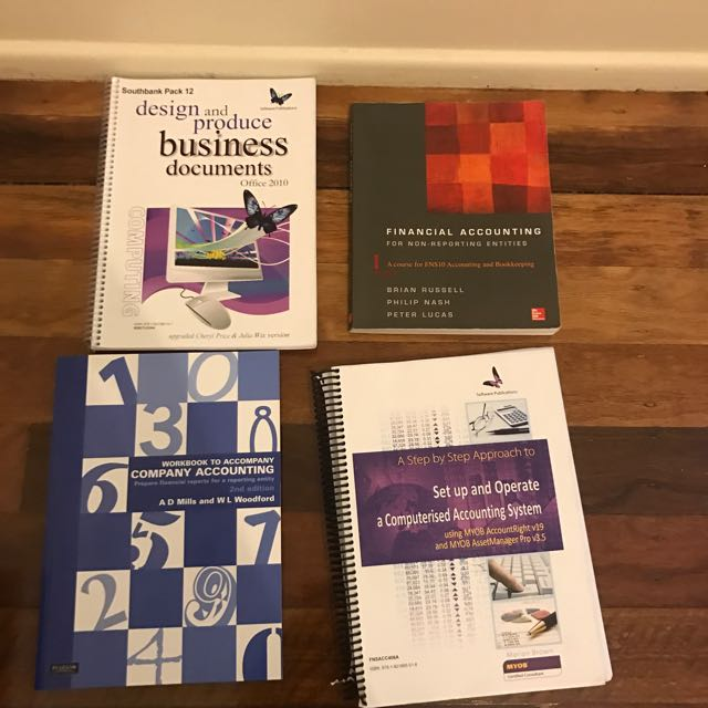 Accounting text books