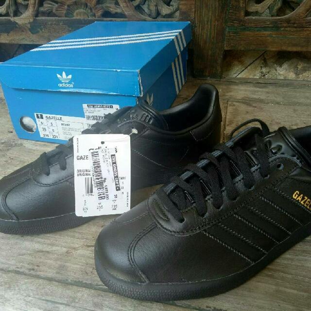Adidas Gazelle Black Size 38