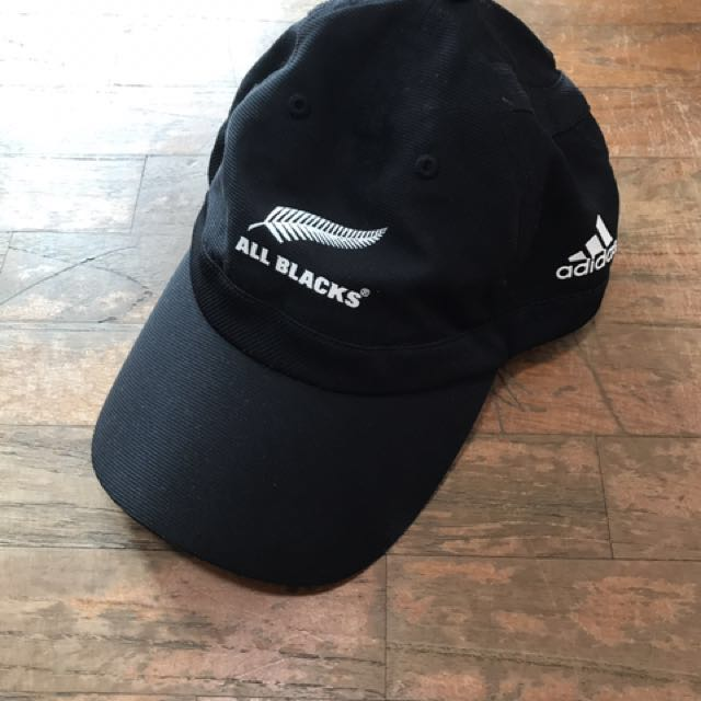 a11d9fec7b9 Adidas New Zealand Silverfern All Blacks Rugby Cap
