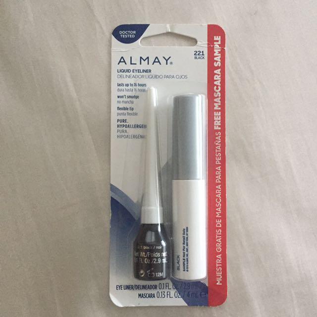 ALMAY Black eyeliner w/ FREE mascara!