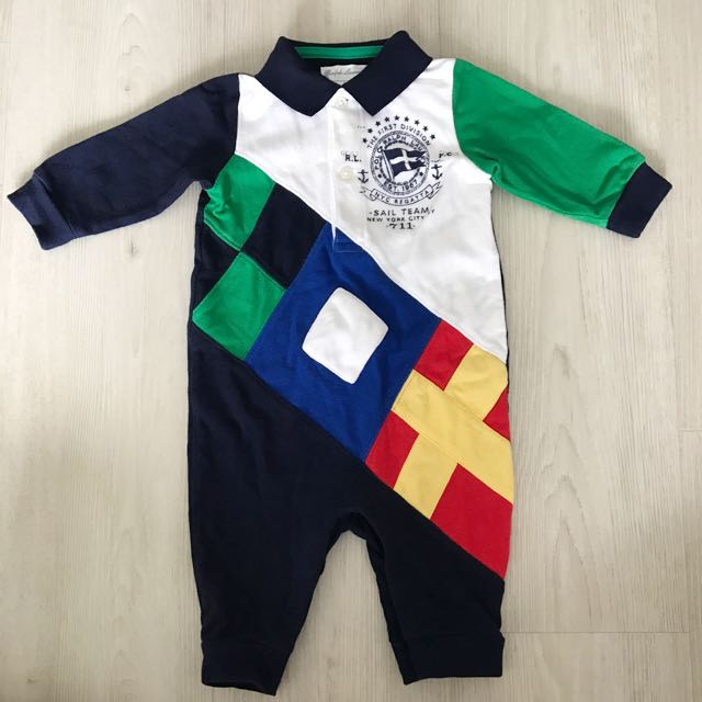 bf88d9ee0b65 Almost Brand New Authentic Polo Ralph Lauren Onesie Romper