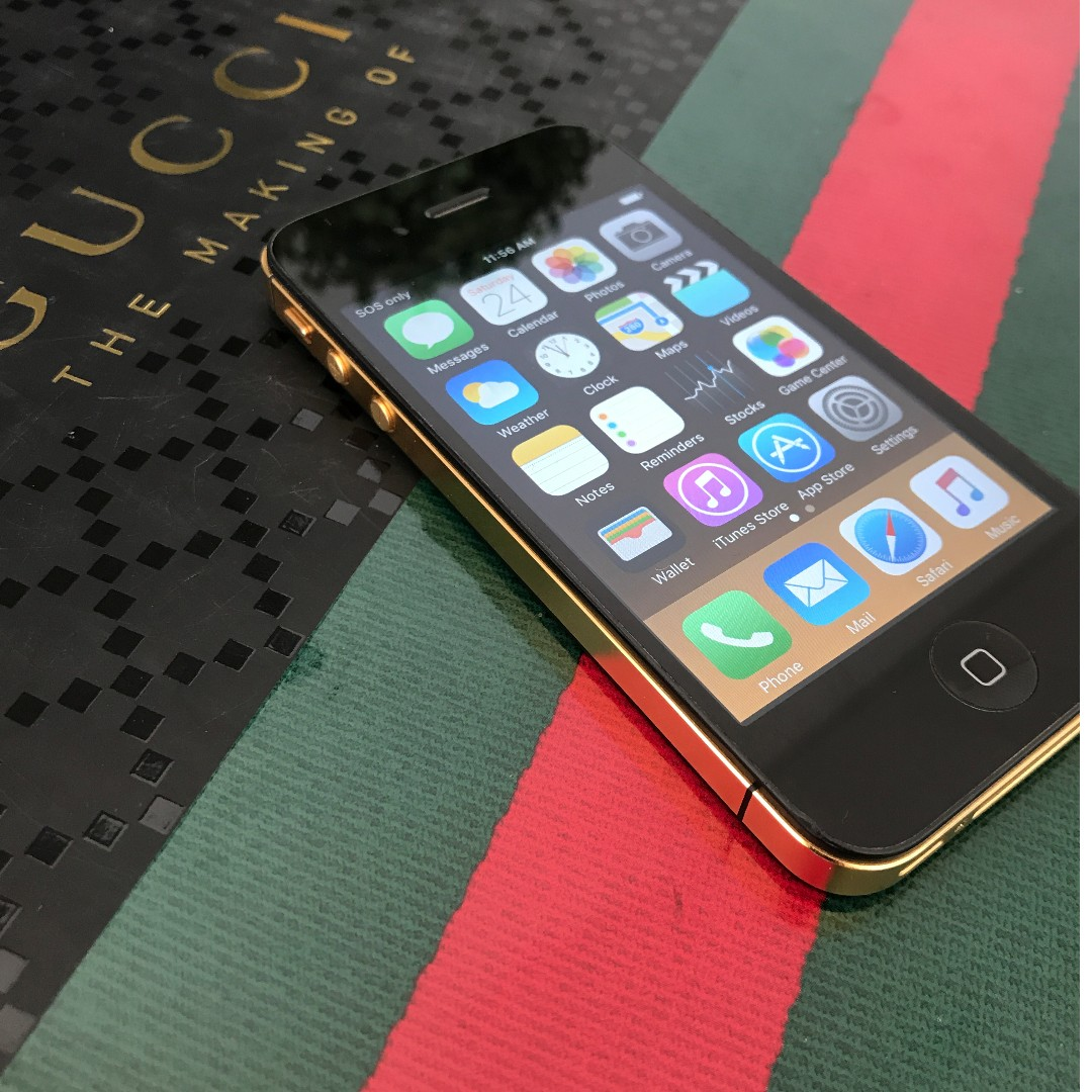 Apple iPhone 4S 24KT GOLD LIMITED EDITION