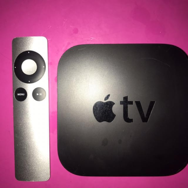 Apple TV First Gen (With cord and remote)