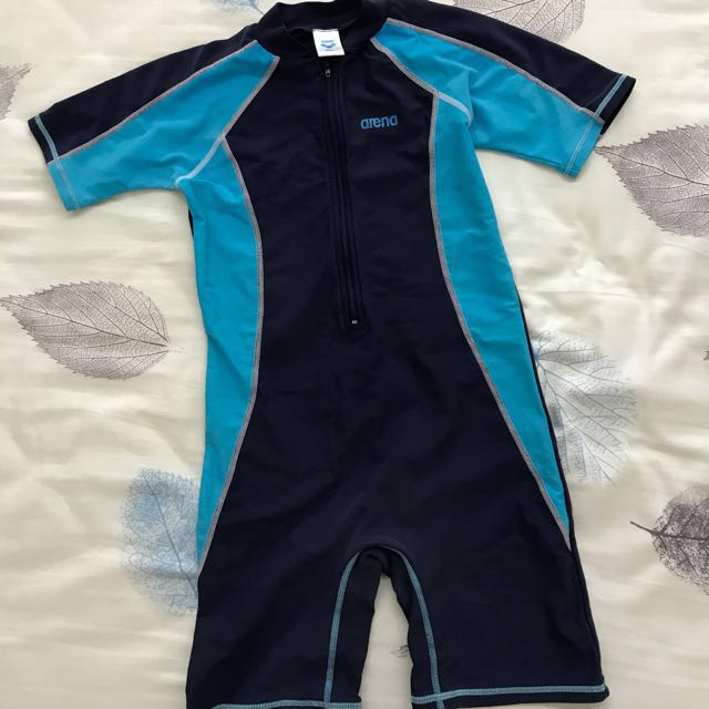 Arena boy swim wear, one piece, 4-6 years old, Babies & Kids, Boys' Apparel  on Carousell