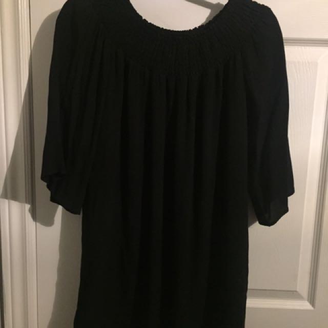 Aritizia Talula Off the Shoulder Dress