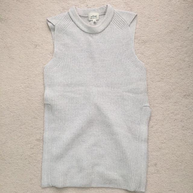 Aritzia Wilfred Palmier Sweater