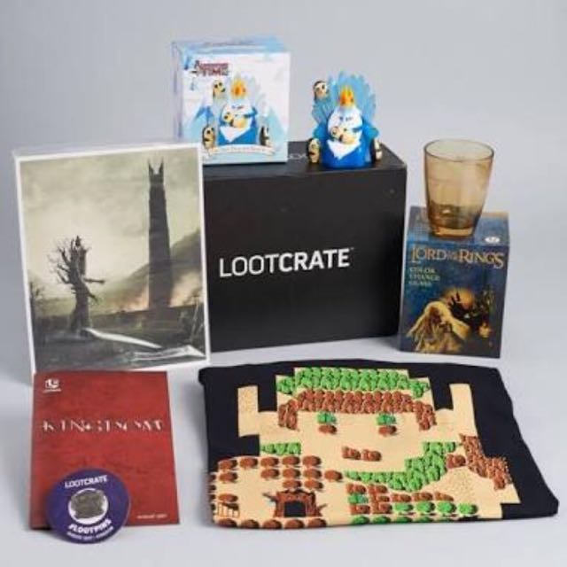 August Lootcrate box