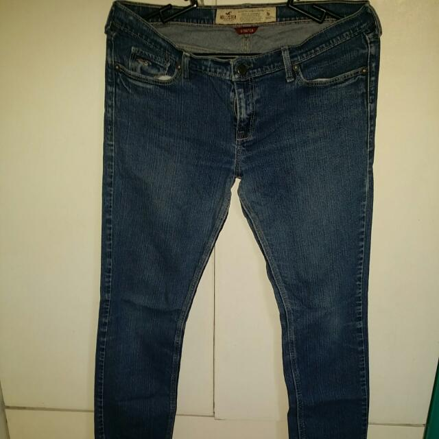 Auth Hollister Skinny Stretch Jeans