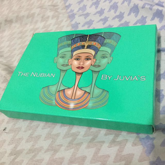 AUTHENTIC Nubian Eyeshadow Paletter - Juvia's Place