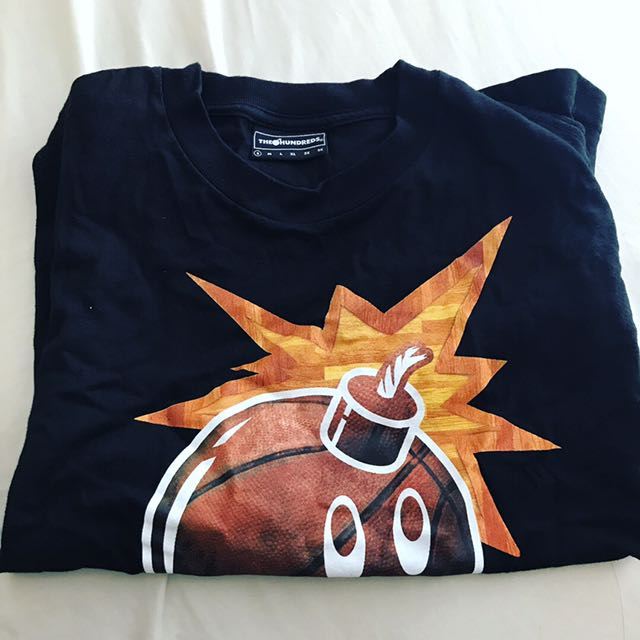 Authentic THE HUNDREDS bomb shirt.