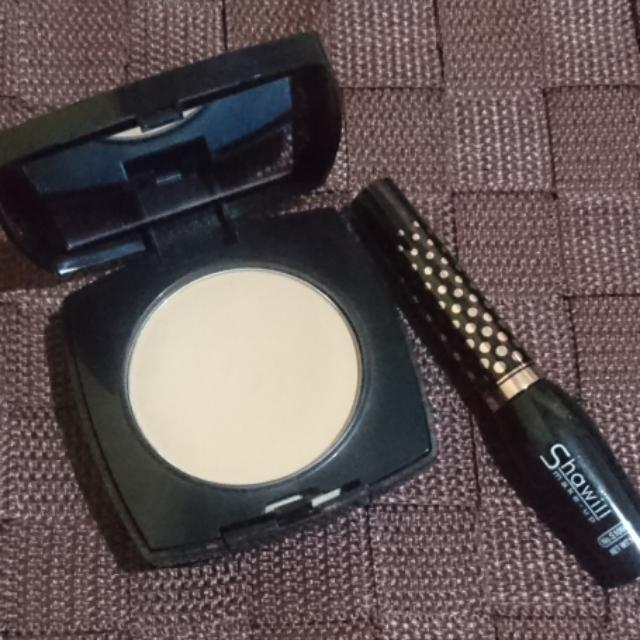 Avon Dual Powder Foundation And Shawill Liquid Eyeliner
