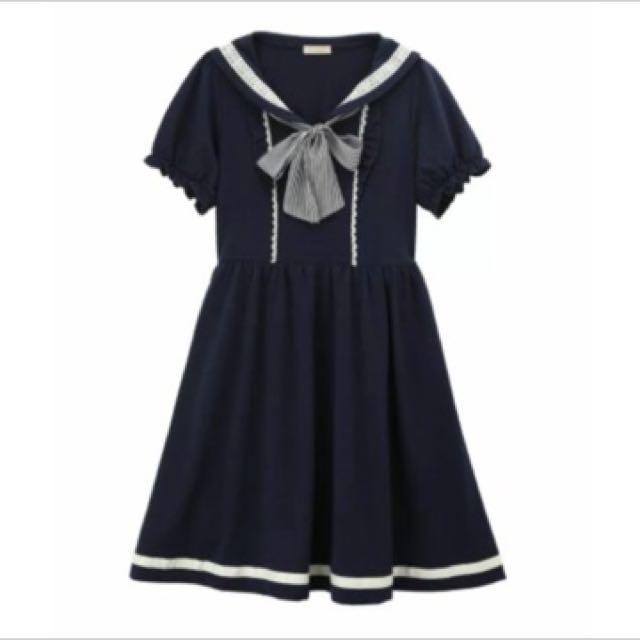 axes 海軍風洋裝
