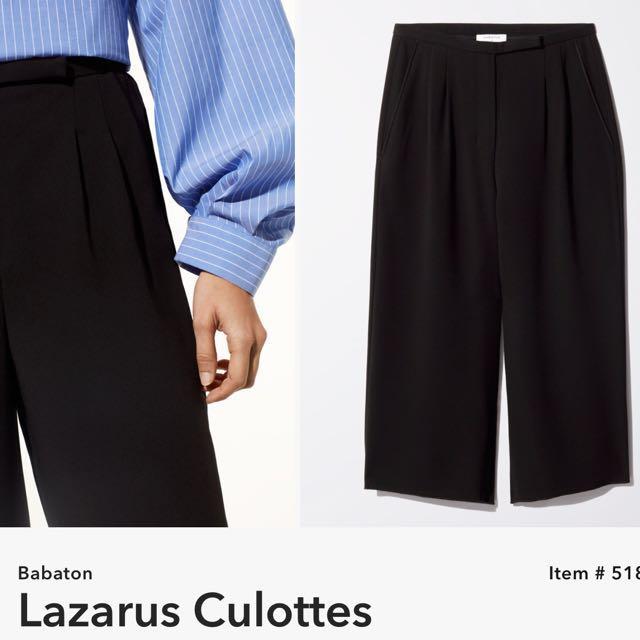Babaton Lazarus Culottes