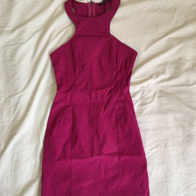 Berry Cocktail Dress