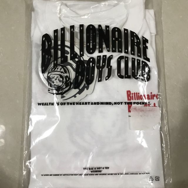 BILLIONAIRE BOYS CLUB ONE POINT LOUISVILLE HELMET T-SHIRT 17SPRING (JP EXCLUSIVE)