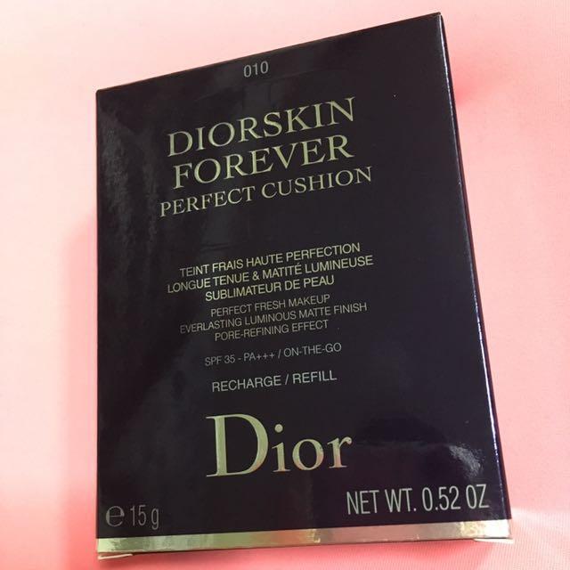 Bnib Diorskin Forever Cushion Refill 010