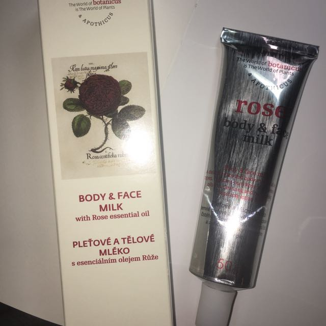 菠丹妮body&face Milk