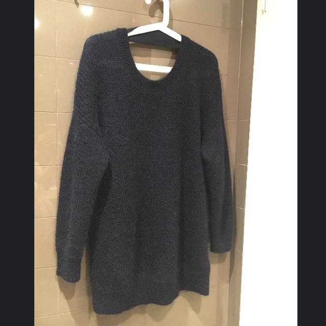 Brand NewCOS Navy Oversized Sweater