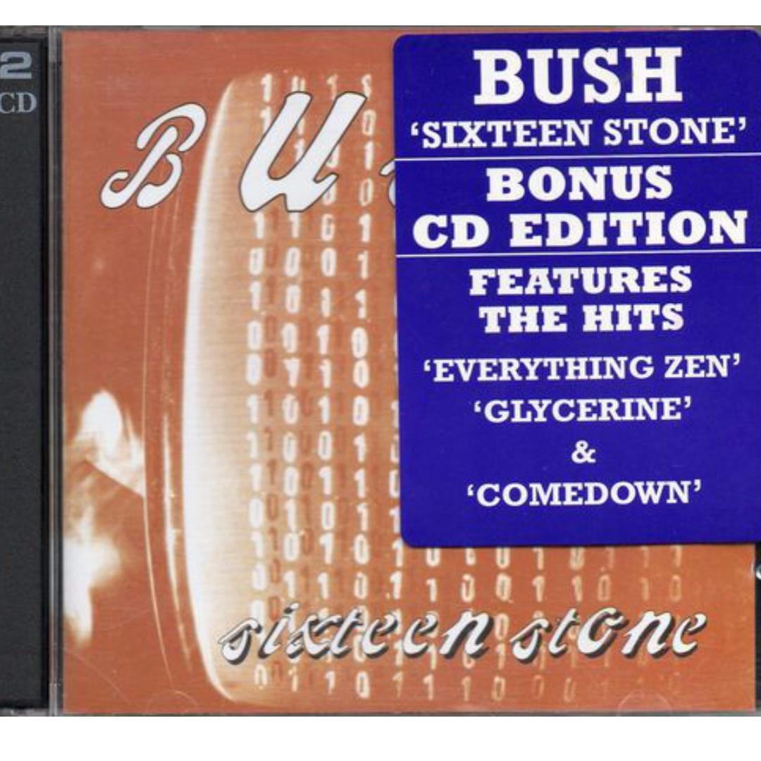 Bush Sixteen Stone (Bonus CD Edition) cd