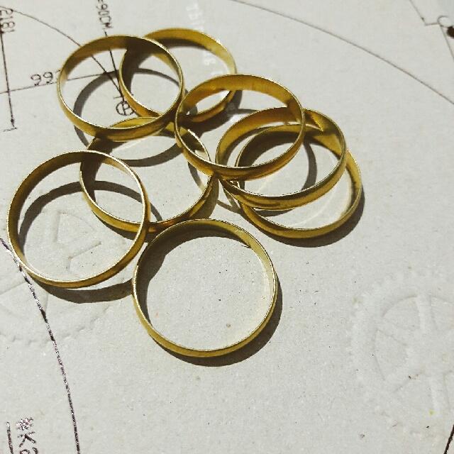 黃銅個性戒指