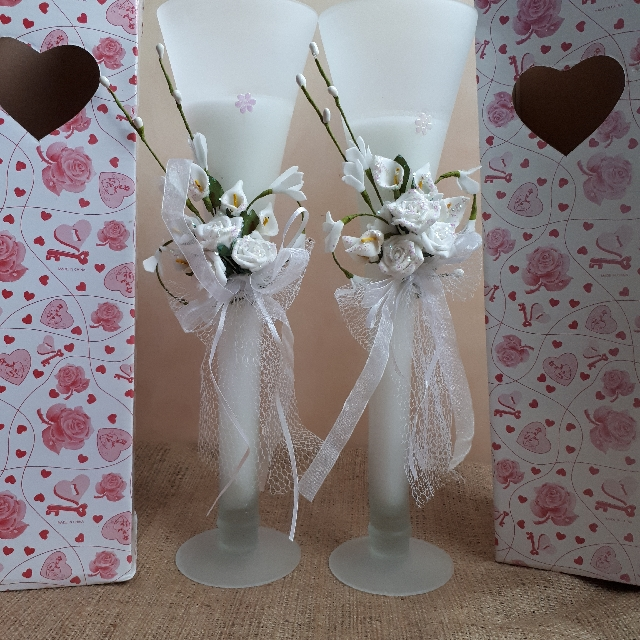 Candles With Calla Lillies