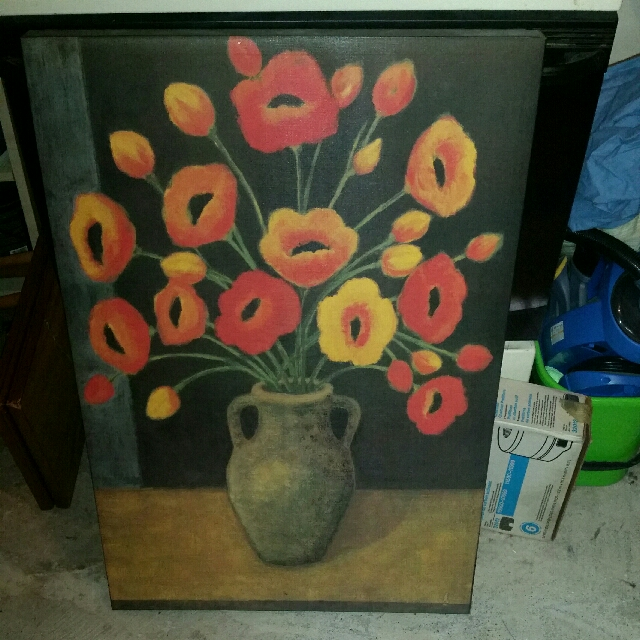 Canvas Painting- Flowers