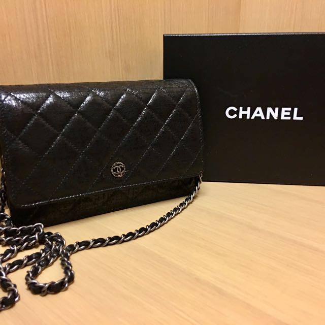 Chanel 鏈子皮夾