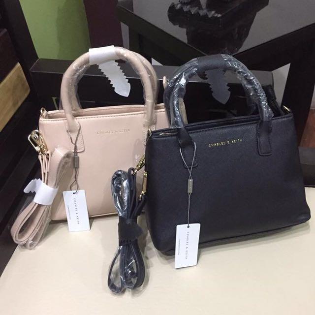 Charles & Keith Square Sling Bag