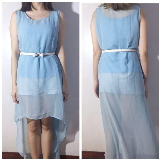 Chiffon Mullet Dress