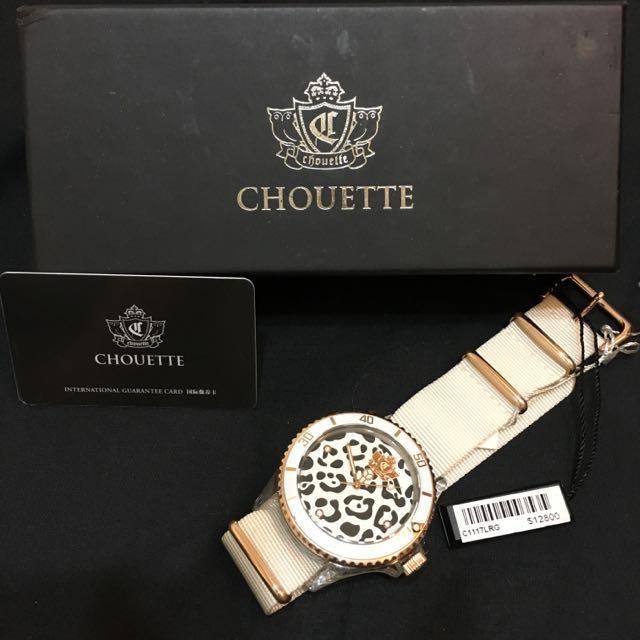 (全新)二折CHOUETTE香港米蘭名錶