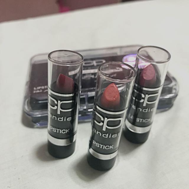 Chéri Paris Lipstick (3 pcs) w/ Box
