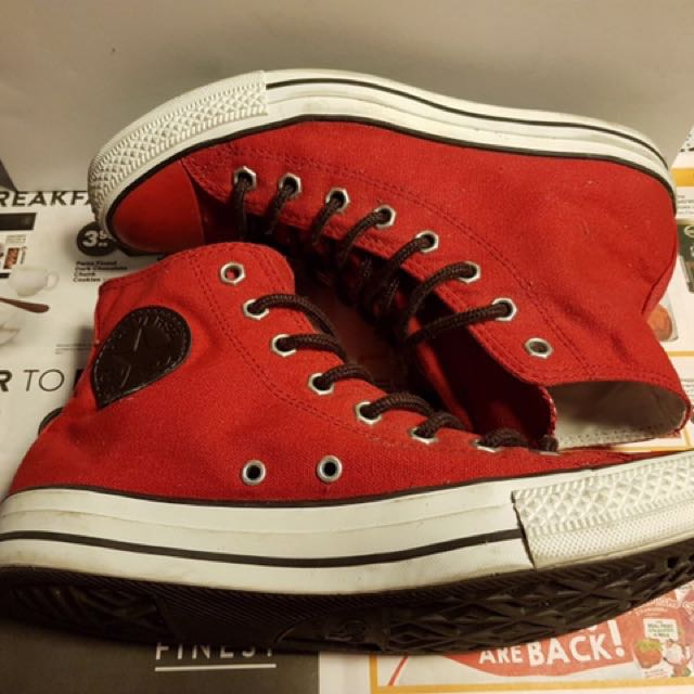 Converse Red Chuck Taylor's