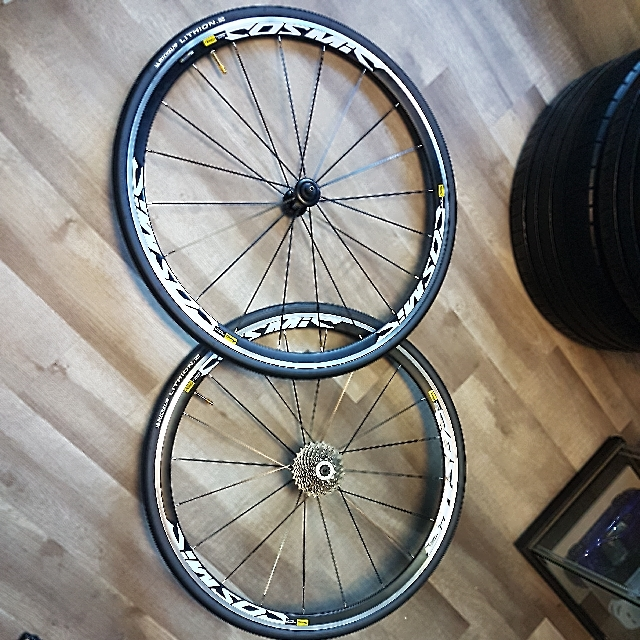 Cosmic Elite Road Wheelset With Michelin Lithion 2 Tyres