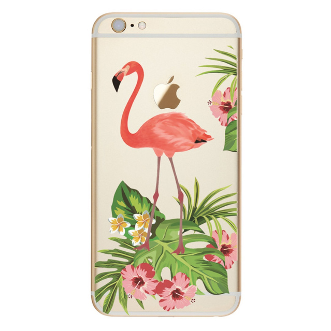 Cute Flamingo Print Case - iPhone 7