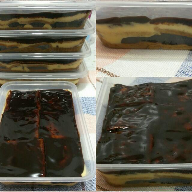 Double Choco Tiramisu(with Creamcheese Marble Filling)
