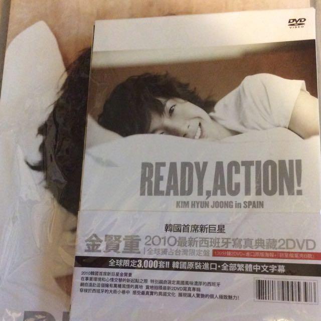 金賢重-西班牙寫真DVD